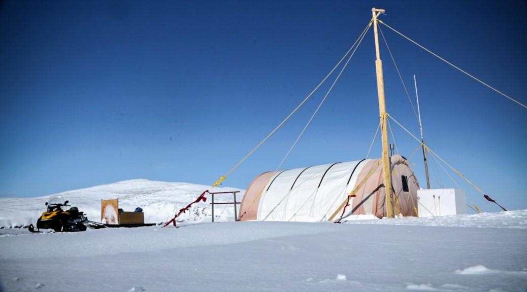 Ice camp 2015, Qikiqtarjuaq, Nunavut. Credits: Pierre Coupel, Takuvik.