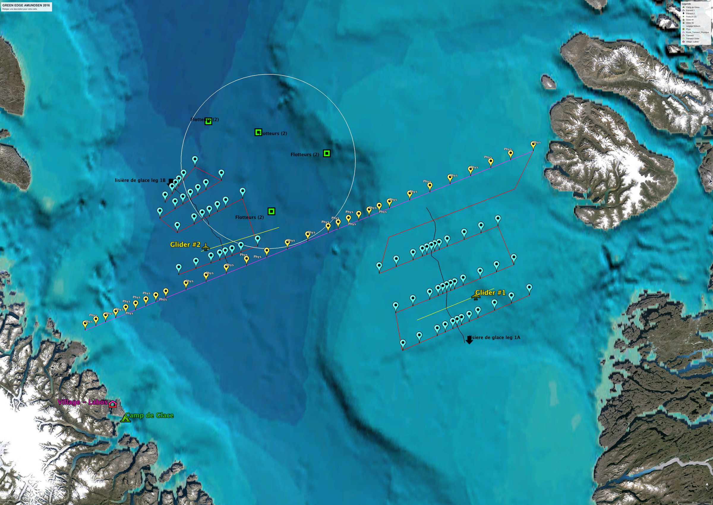 CCGS Amundsen mission plan.