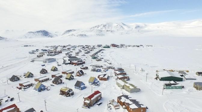 Inuit community.