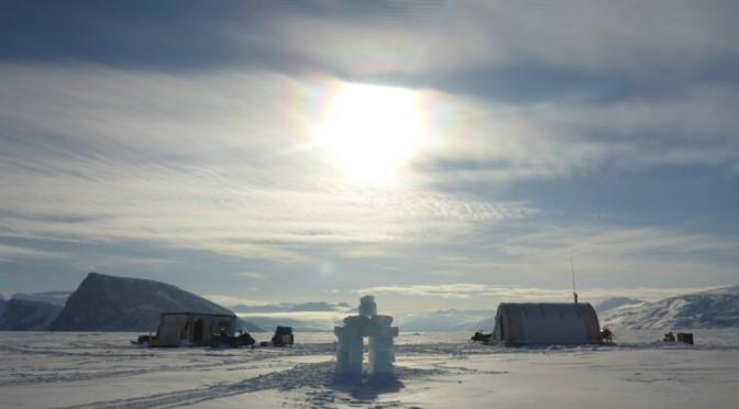 Camp de glace