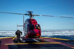 Helicopter - Credit: Noé Sardet
