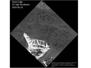 Figure 1: Image from the Canadian RadarSat-2