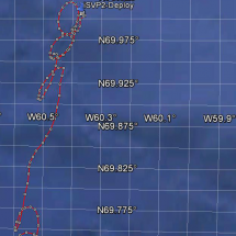 Data transmitted from the buoy GE_09