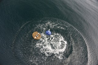 iSPV buoys deployed in the water